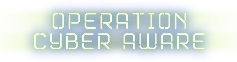 Operation Cyber Aware Logo